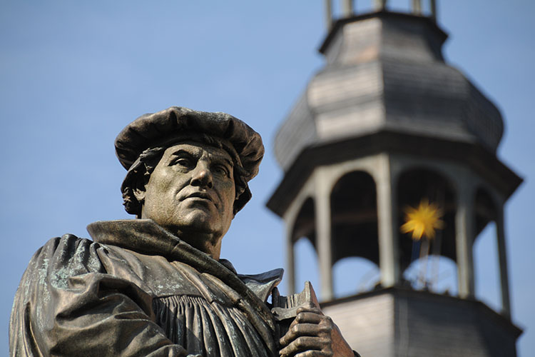 What was Martin Luther's theology of the Word of God?
